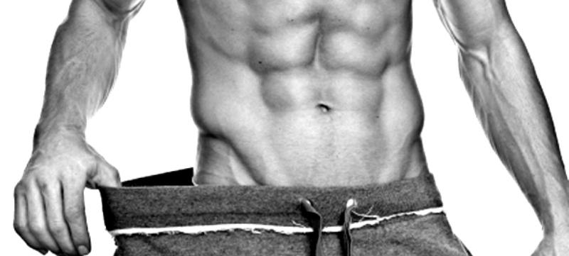 thuis spieren trainen en afvallen