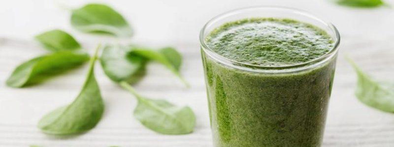 groene shakes om af te vallen