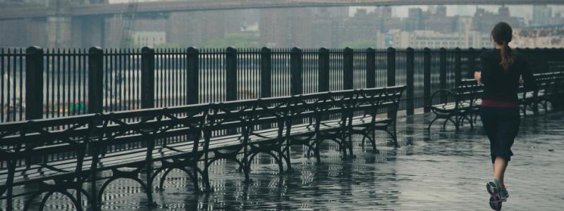 hoeveel val je af met joggen