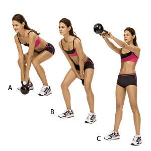 Kettlebell work-out, een andere vorm van bewegen en daarom zo leuk.