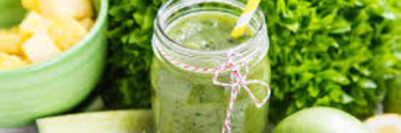 hoe verlies je gewicht, groene smoothie
