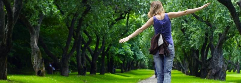 hoeveel val je af met wandelen