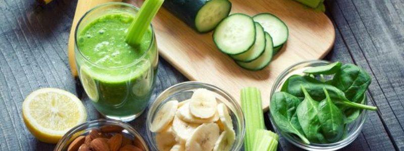 simpele groene smoothies om af te vallen